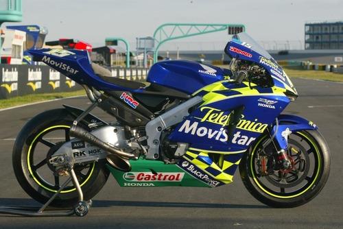 Quel team faisait rouler cette moto ?