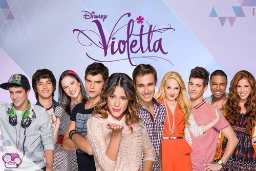 Is dit de cast van Violetta 2 of 3 ?