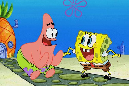 Proč Spongebob kamarádí s Patrikem?