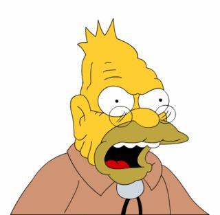 Quel est le prénom de grand-père Simpson ?