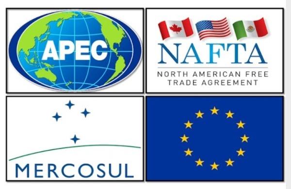 É a associação de vários países a fim de formar um mercado regional comum através de facilidades tarifárias entre os membros. Estamos nos referindo ao :