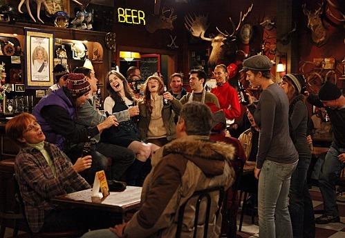 Comment se nomme le bar canadien de Robin ?