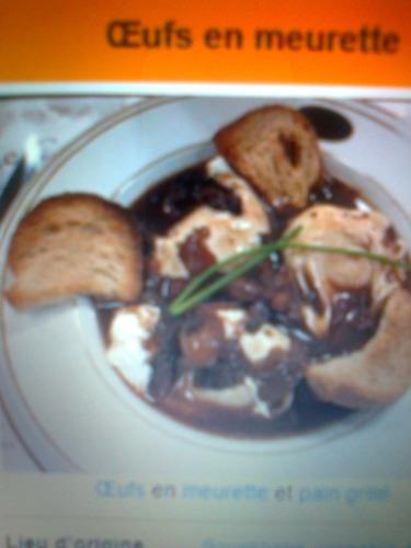 """""""L'OEUFS-en-MEURETTE"""" est  un plat traditionnel de quelle région?"""