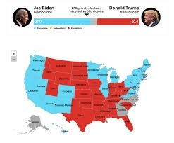 How many people voted in the United States ?
