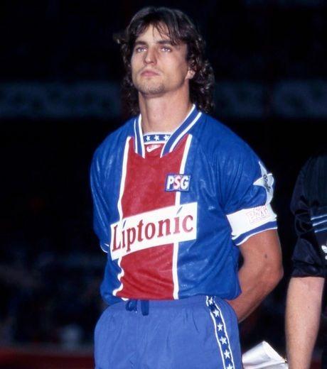 Dans quel club David Ginola évoluait-il juste avant de rejoindre le PSG en 1992 ?