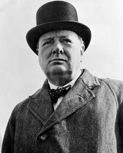 De quel parti Winston Churchill était-il le leader ?
