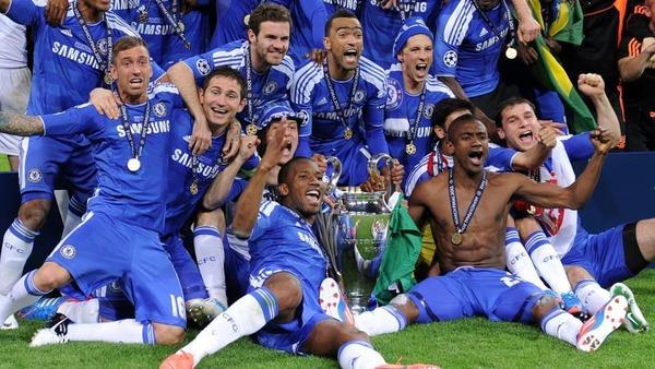 Qui perd la finale de 2012 contre Chelsea FC ?