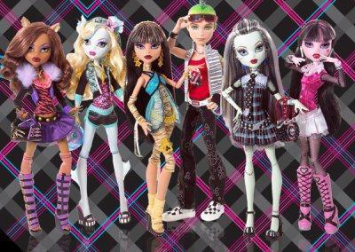 Comment s'appelle la première collection de poupée Monster High ?