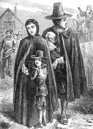 Story of the first Thanksgiving: 400 years ago, which community decided to leave England to go to America ?