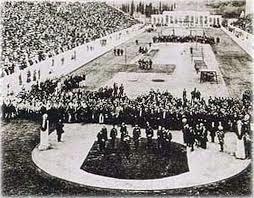 Quand ont eu lieu les premiers Jeux Olympiques modernes ?