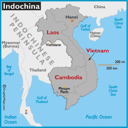 What was the name of Vietnam in 1940?