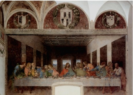 """""""Ultima Cena"""" (o """"Cenacolo""""), capolavoro di Leonardo da Vinci, riprende il tema dell'Ultima Cena in maniera davvero innovativa: raffigura gli apostoli con atteggiamenti e reazioni diverse. Dove si trova questo dipinto?"""
