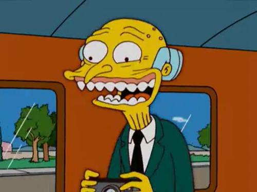 Quel est le nom du patron de Homer ?