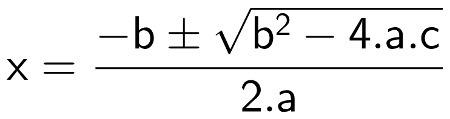 Que formula Foi representada na imagem ?