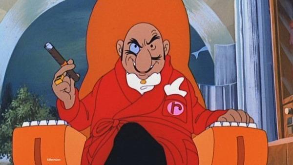 Dans quelle série de dessins animés trouve-t-on Rastapopoulos ?