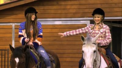 """Dans l'épisode """"Même pas peur"""", Miley demande à Lilly de faire du cheval. Lilly lui dit à une condition ! Que toi aussi tu affrontes ta peur ! Alors..."""