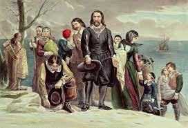 Almost half of the Pilgrims...