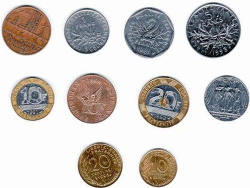 La pièce de 2 francs avait une forme ?