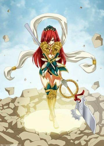 Dans le manga Fairy Tail, quelle armure d'Erza est-ce ?