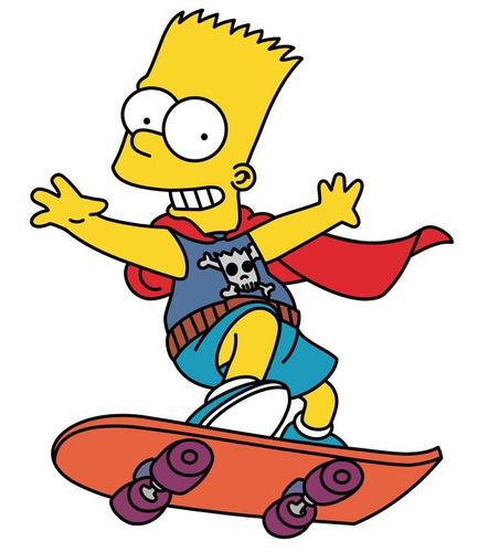 """Dans l'épisode """"Le Saut de la Mort"""", Bart envisage de sauter par dessus :"""