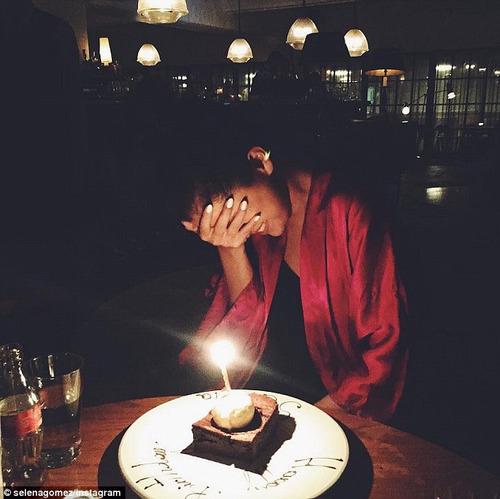 Où Selena a-t-elle fêté ses 23 ans ?