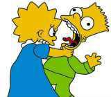 Dans un épisode, Lisa et Bart se retrouvent en CE2 : pour quelle raison ?