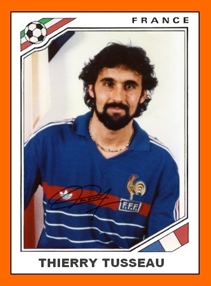 Dans lequel de ce clubs Thierry Tusseau n'a-t-il jamais joué ?
