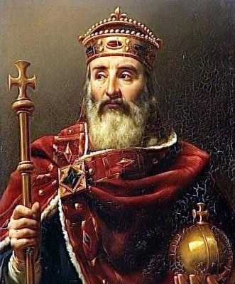 Charlemagne était en fait…