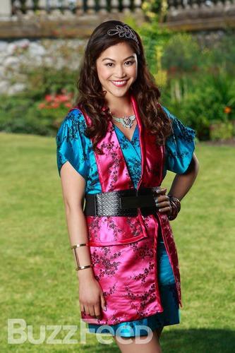 Comment s'appelle la fille de Mulan ?