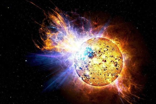 Co je to sluneční erupce?