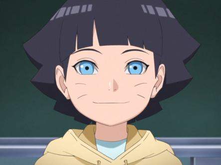Qual a filha de Naruto ?