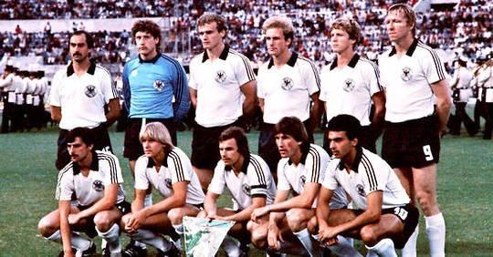 Qui est opposé aux allemands lors de cette finale de 1980 ?