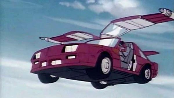 Quel est le nom du véhicule de Matt ?