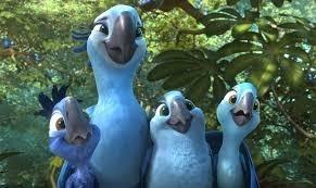 Combien d'enfants ont Blu et Perla ?