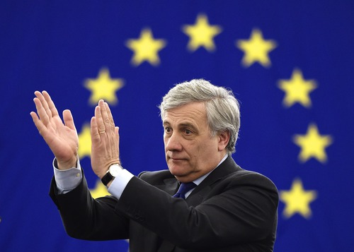 What is the name of the president of the european parliament?