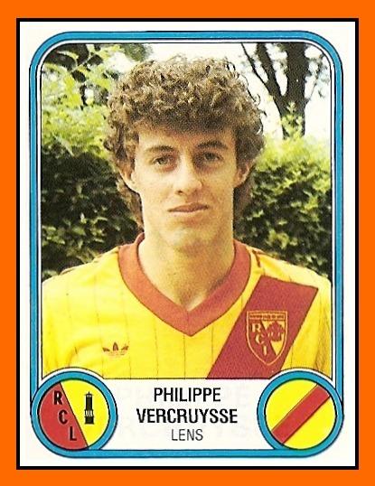 Le RC Lens est le premier club professionnel de Philippe Vercruysse.