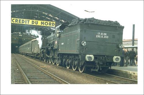 Comment s'appelle cette locomotive du passé ?