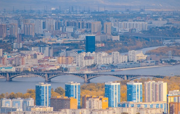 Quel fleuve passe par la ville Krasnoyarsk ?