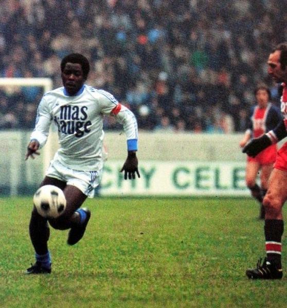 L' OM est le premier club pro de la carrière de Marius Trésor.