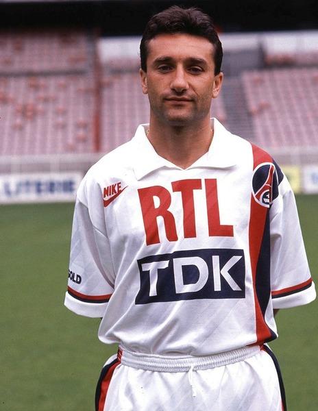 Qui est ce joueur parisien du début des années 90 ?