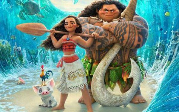 """Quel est le titre complet du film d'animation """"Vaiana"""" ?"""