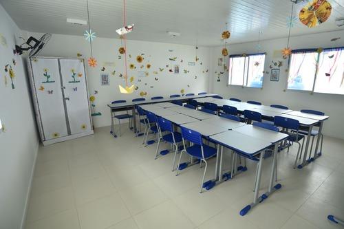 Qual governo é responsável por escolas como, por exemplo, o Antônio Geraldo ?