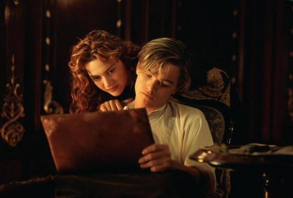 Titanic, qu'est-il en train de dessiner ?