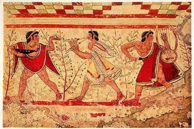 Une 2e version laisse penser qu'elles existaient déjà en Italie à l'Antiquité, au sein de la population...