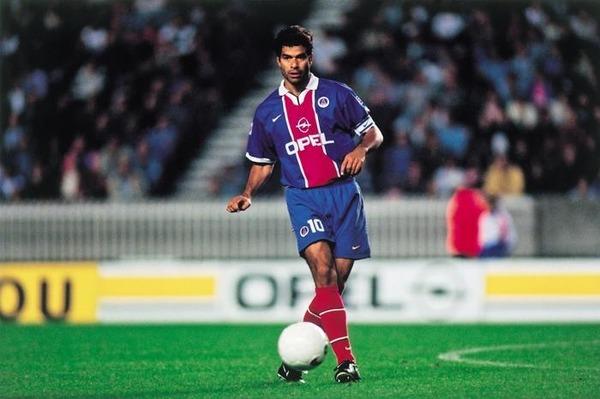 Où Raï évoluait-il avant de rejoindre le PSG ?