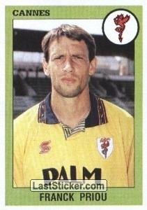 Dans quel club Franck Priou n'a-t-il jamais joué ?