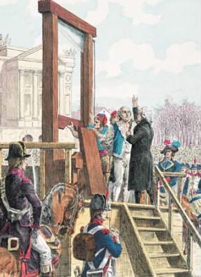 En quelle année le roi Louis XVI a-t-il été exécuté ?