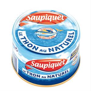 Pour acheter du thon en conserve, je vais au rayon: