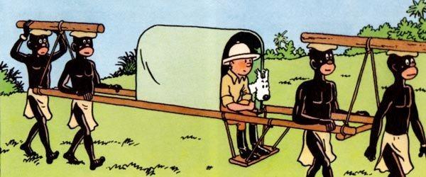 Dans quel album Tintin se rend-il dans une colonie belge ?
