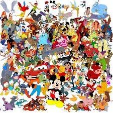 Onde esta escrito Disney?